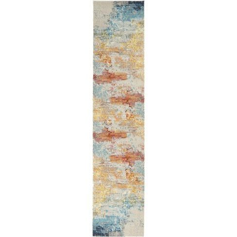 Celestial CES02 Area Rug Colorful Contemporary Abstract By Nourison - image 1 of 4