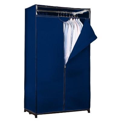 """Simplify 36"""" Wide Portable Closet Navy"""