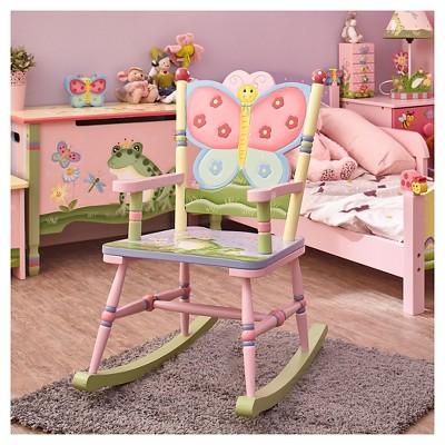Fantasy Fields Magic Garden Rocking Chair   Teamson : Target