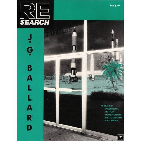 Research No. 8/9: J.G. Ballard - (Re/Search) by  V Vale (Paperback) - image 1 of 1