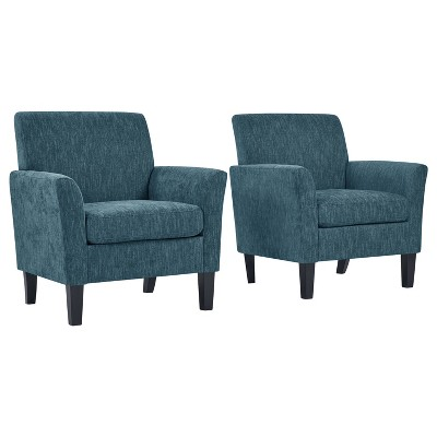 Set of 2 Marquee Flared Armchair - Handy Living