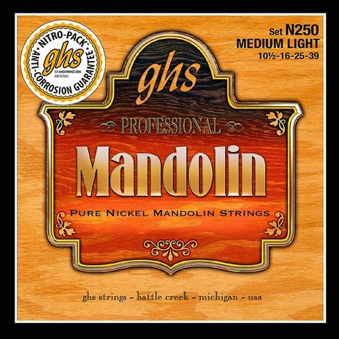 GHS Pure Nickel Mandolin Medium Light Strings - image 1 of 1