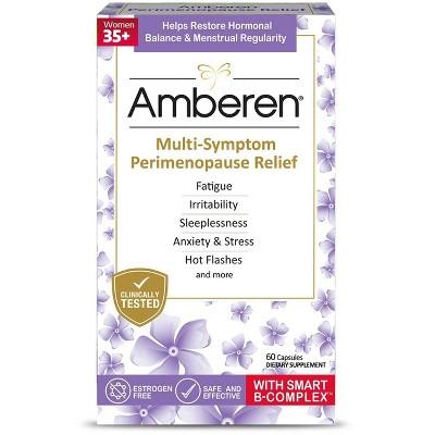 Amberen Perimenopause Dietary Supplements - 60ct