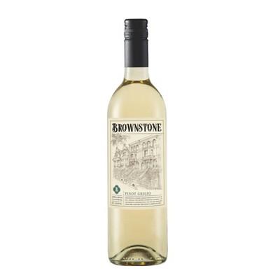 Brownstone Pinot Grigio White Wine - 750ml Bottle