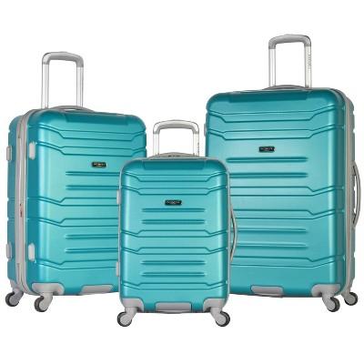 Olympia USA Denmark 3pc Luggage Set - Teal