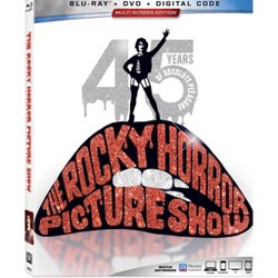 The Rocky Horror Picture Show 45th Anniversary Edition (Blu-ray + DVD + Digital)