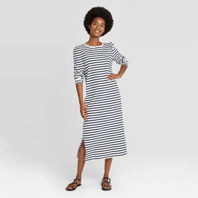 Women's Puff Long Sleeve T-Shirt Dress - Universal Thread™