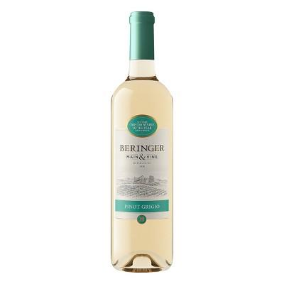 Beringer Pinot Grigio White Wine - 750ml Bottle
