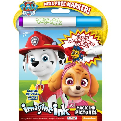 - Paw Patrol Imagine Ink Coloring Book : Target