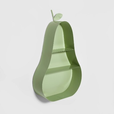 Metal Pear Shelf Green - Pillowfort™