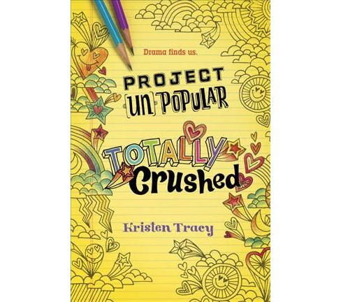 Totally Crushed -  (Project Unpopular) by Kristen Tracy (Hardcover) - image 1 of 1