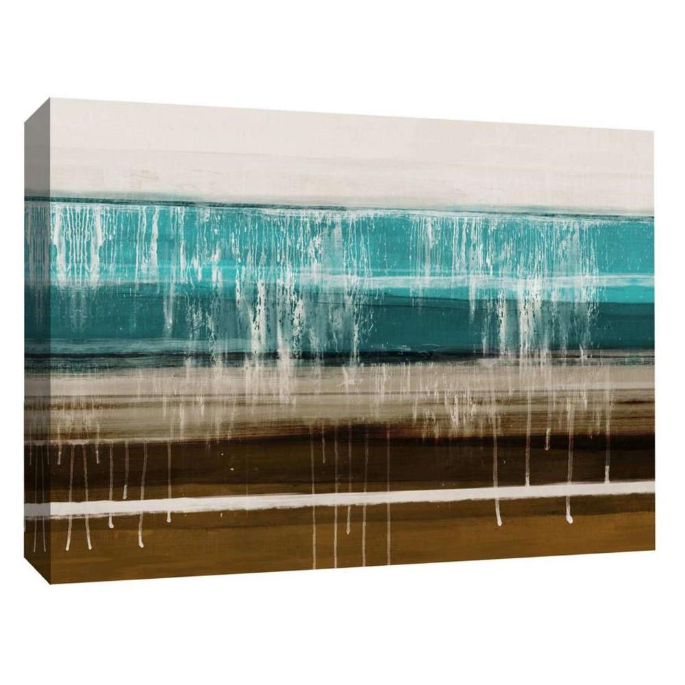 "Image of ""Melting White Decorative Canvas Wall Art 11""""x14"""" - PTM Images"""