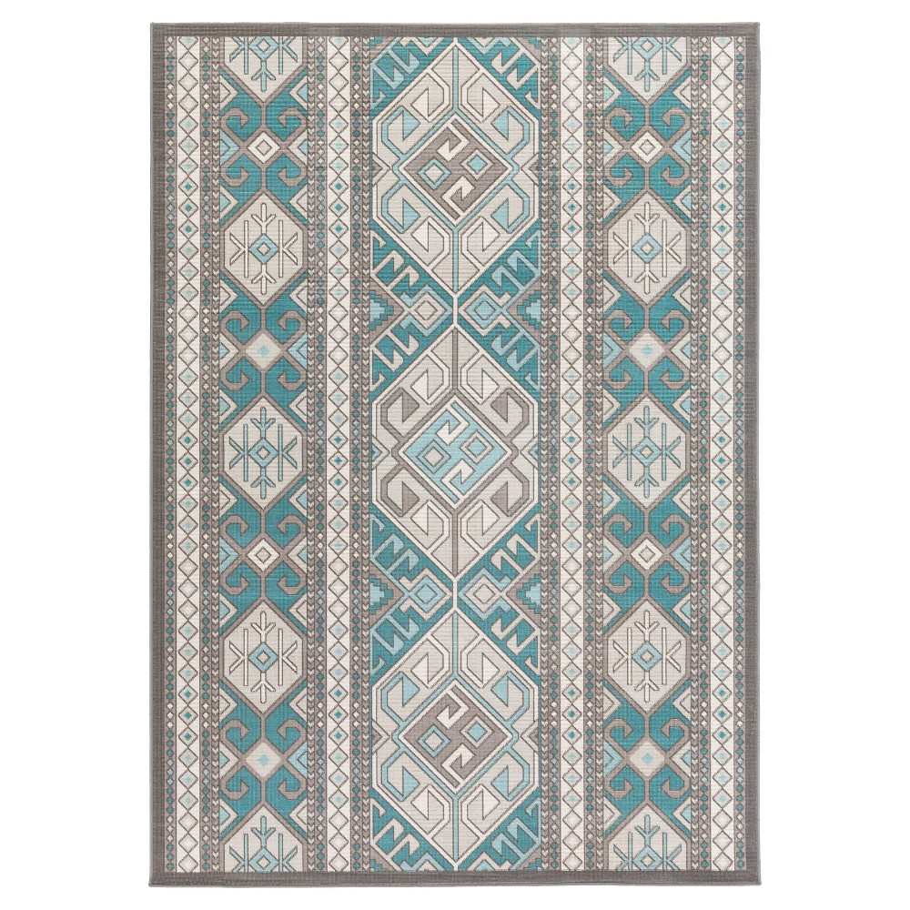 Surya Scotreventh Area Rug - Teal (Blue) (6'9