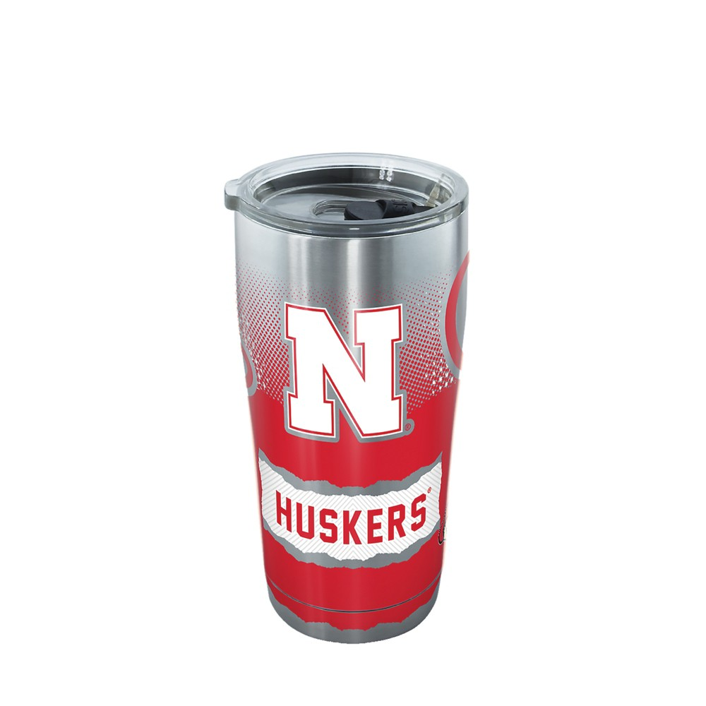 Tervis Nebraska Cornhuskers Knockout 20oz Stainless Steel Tumbler with lid