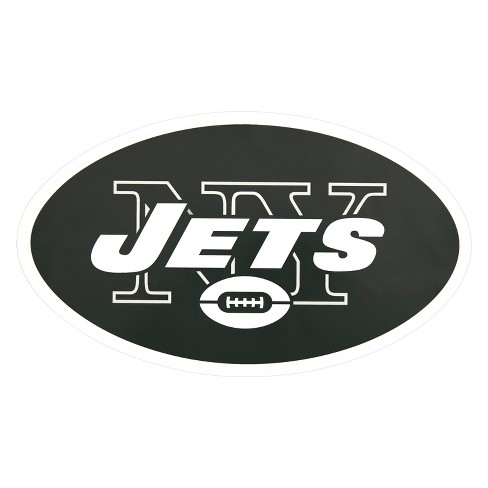 NFL New York Jets Large Outdoor Logo Decal - image 1 of 2