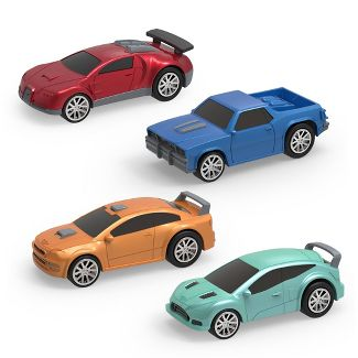 DRIVEN by Battat 4-pk. Cars Toy Vehicles