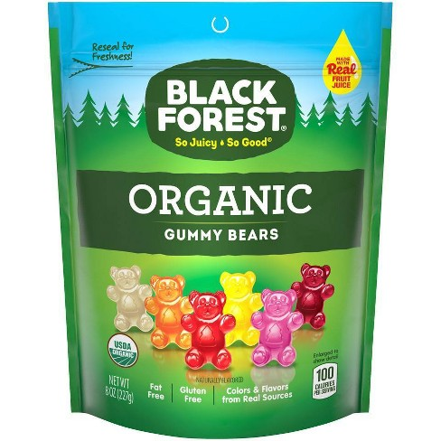 Black Forest Organic Gummy Bears 8oz Resealable Stand Up Bag - image 1 of 3