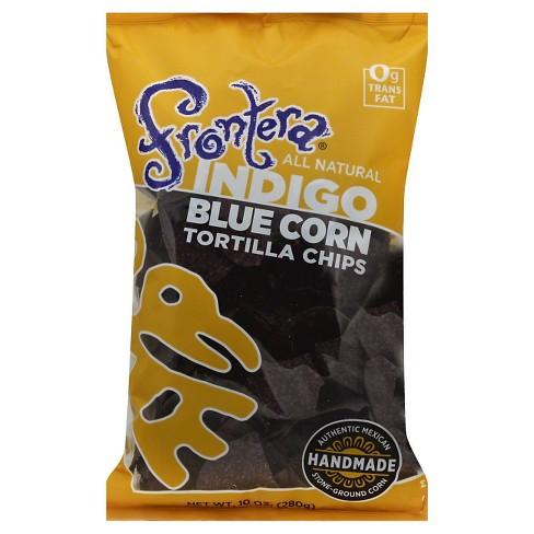 Frontera Blue Corn Tortilla Chips - 10oz/12pk - image 1 of 3