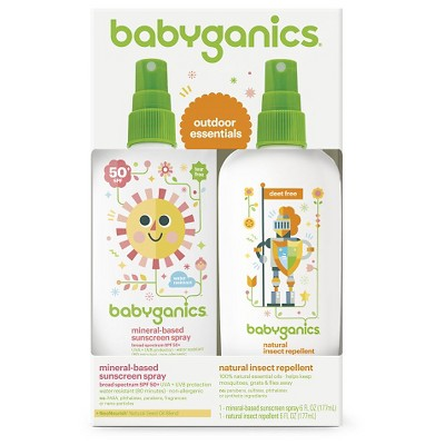 Babyganics Sun & Bug Duo Set