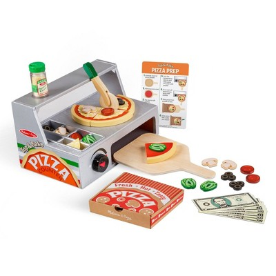 Melissa & Doug Top & Bake Pizza Counter 41pc