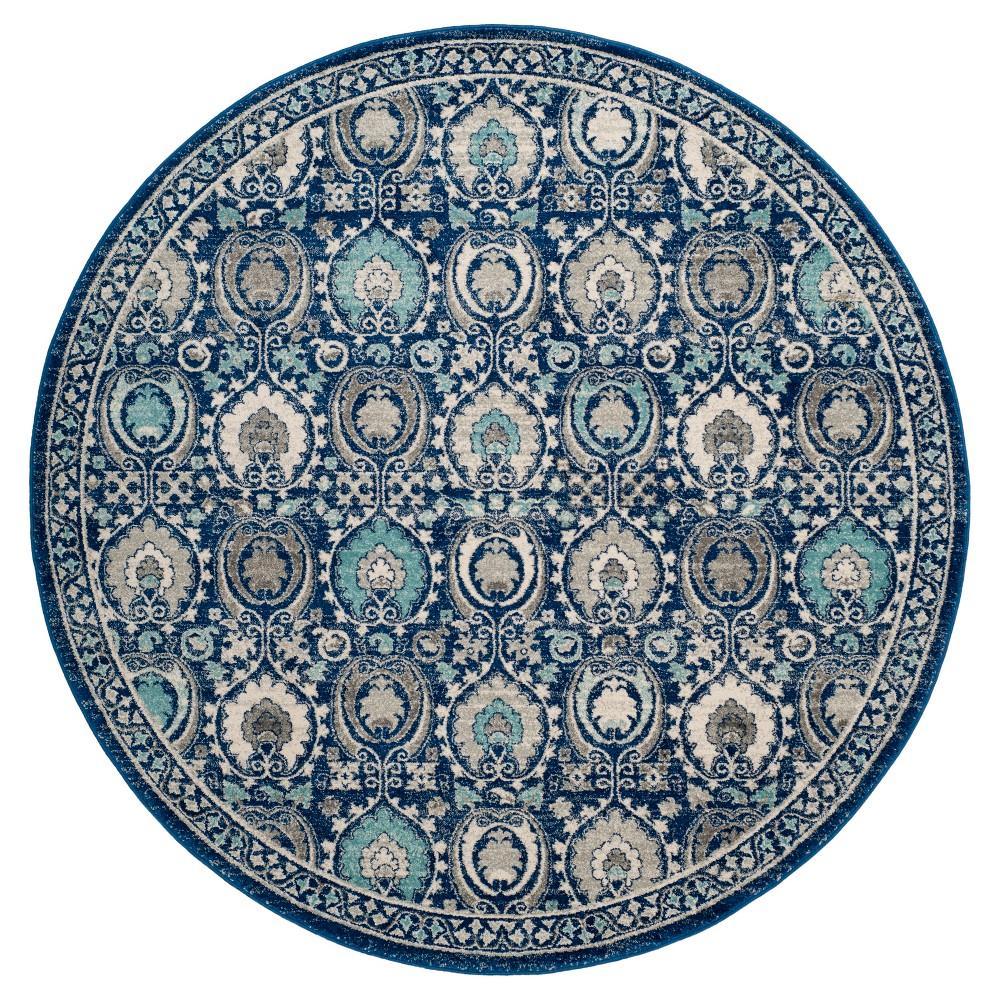Evoke Rug - Blue/Ivory - (6'7