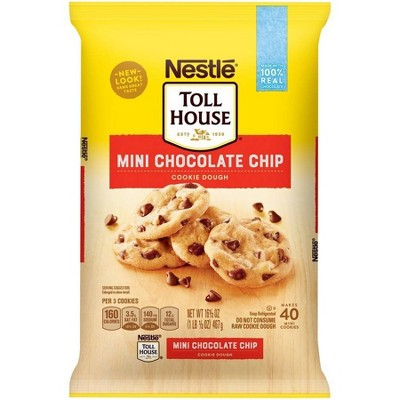 Nestle Tollhouse Mini Chocolate Chip Cookie Dough - 16.5oz