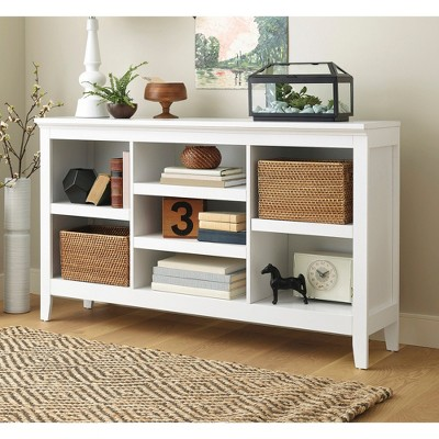 32 carson horizontal bookcase with adjustable shelves white rh target com