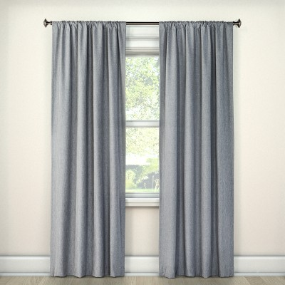 Lightblocking Curtain Panel Gray (42 x63 )- Room Essentials™