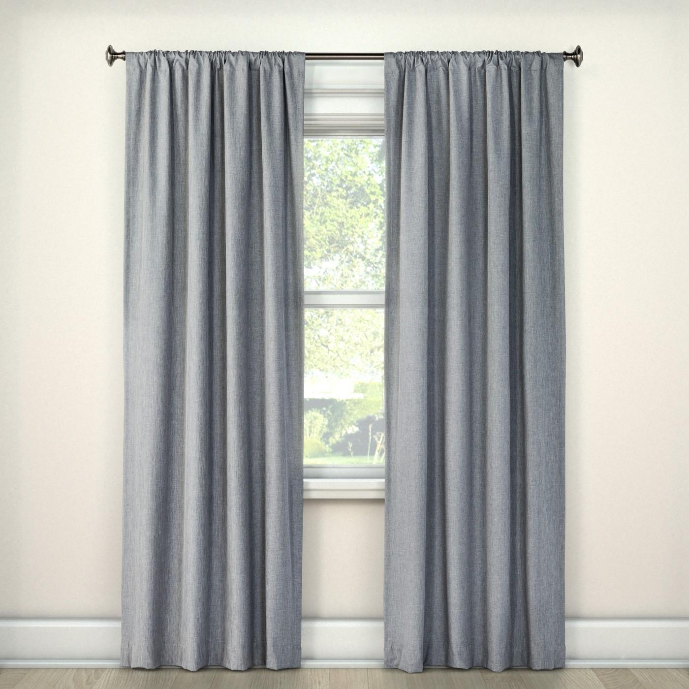 Lightblocking Curtain Panel - Room Essentials™ - image 1 of 2