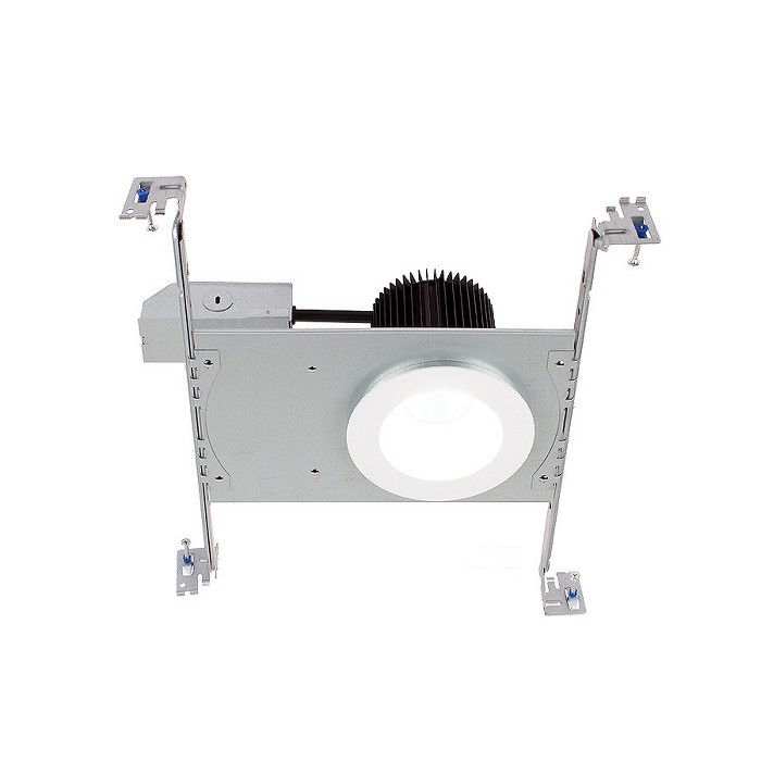 """WAC Lighting HR3S-R30F Summit 3.5"""" LED Recessed Trim and Housing for New Construction or Remodel - Non-IC Rated - image 1 of 1"""