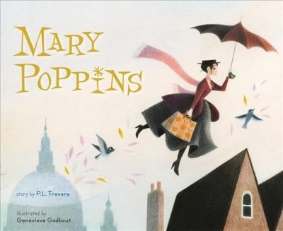 Mary Poppins - (Mary Poppins)by P. L. Travers (School And Library)