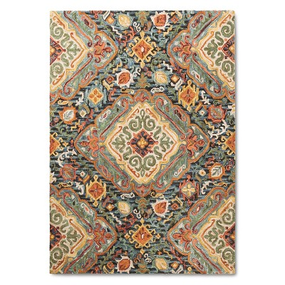 7'X10' Floral Area Rug - Threshold™