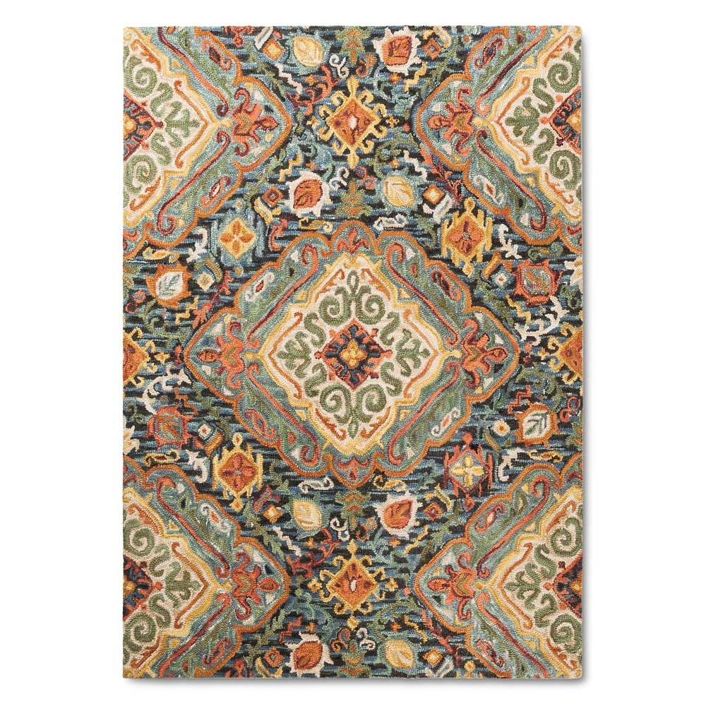Check price 9X12 Floral Area Rug - Threshold