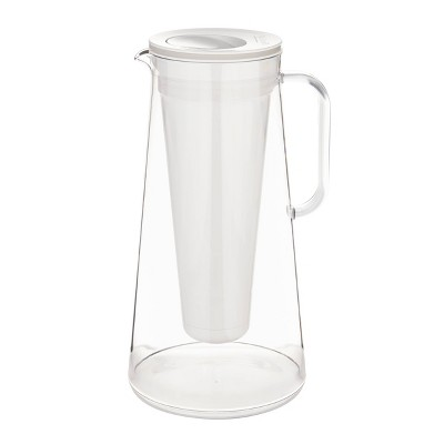 LifeStraw Home 10-Cup Water Filter Pitcher - White