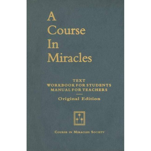 A Course in Miracles, Original Edition - (Paperback) - image 1 of 1