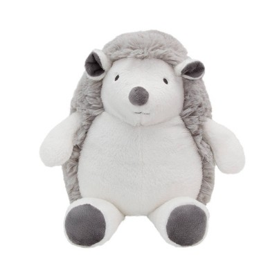NoJo Little Love Penny The Gray and White Fluffy Plush Hedgehog