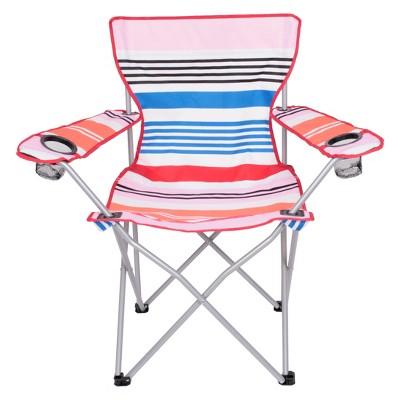 Evergreen Adult Basic Camp Chair - Stripe