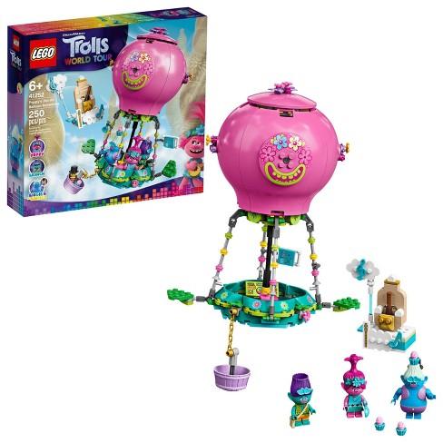 LEGO Trolls World Tour Poppy's Hot Air Balloon Adventure Building Kit 41252 - image 1 of 4