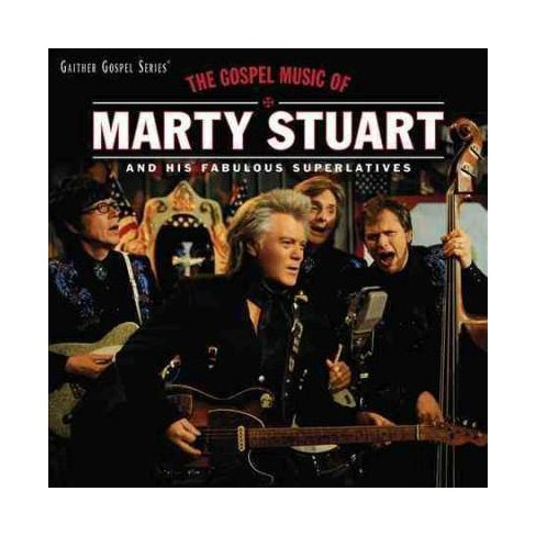 Marty Stuart - Gospel Music Of Marty Stuart (CD) - image 1 of 1