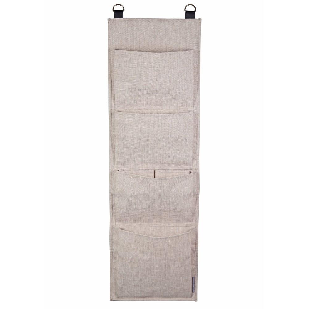 Image of 6 Pockets Hang Up Storage Beige - Bigso Box of Sweden