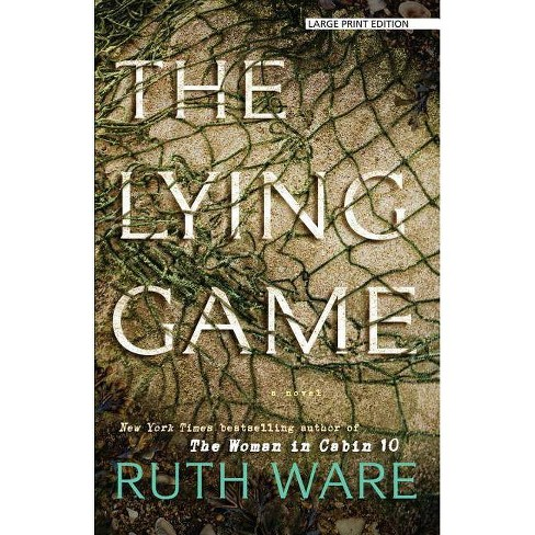 The Lying Game - Large Print by  Ruth Ware (Paperback) - image 1 of 1