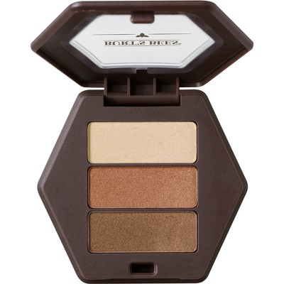 Burt's Bees 100% Natural Eye Shadow Palette with 3 Shades - Blooming Desert - 0.12oz