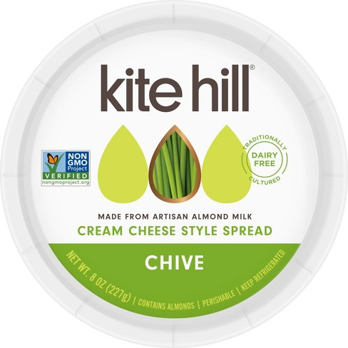 Kite Hill Cream Cheese Spread Chive - 8oz - image 1 of 1