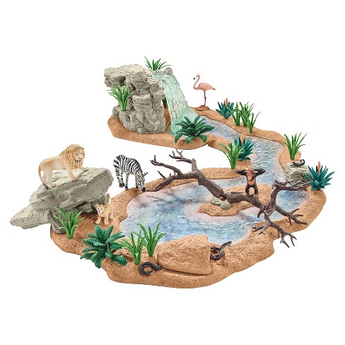 Schleich Big Adventure at the Waterhole - image 1 of 2