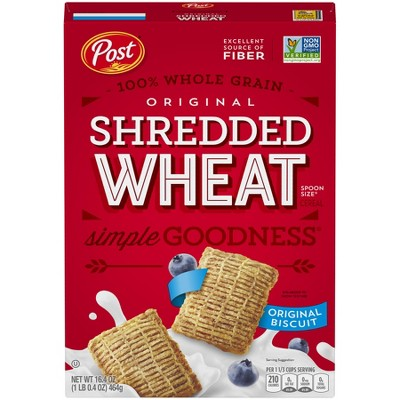 Breakfast Cereal: Shredded Wheat