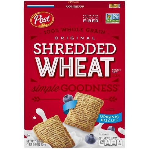 Shredded Wheat Spoon Size Breakfast
