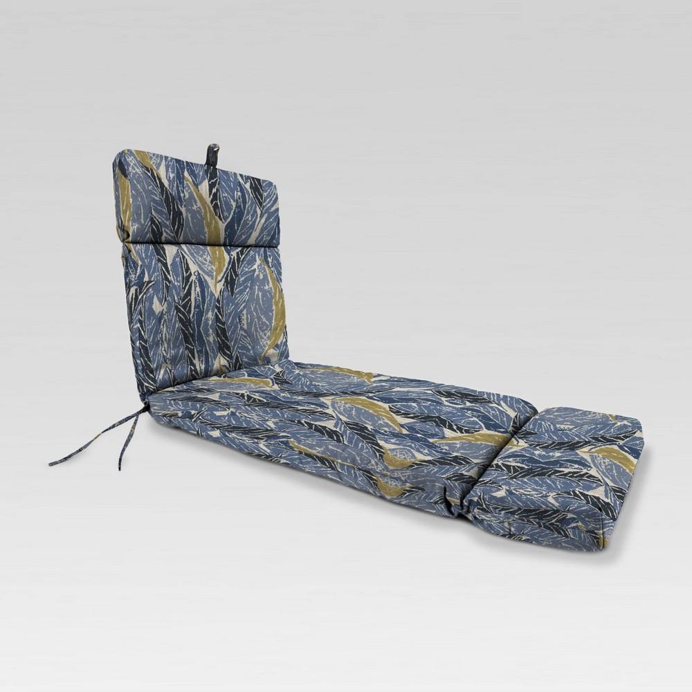 22 34 X72 34 Outdoor Chaise Cushion Nana Azure Jordan Manufacturing