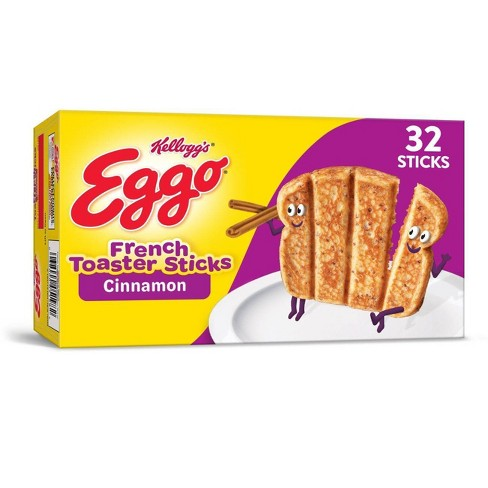 Kellogg's Eggo Cinnamon Frozen French Toaster Sticks - 12.7oz - image 1 of 4