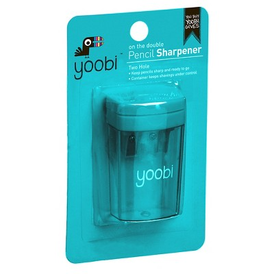 Yoobi Two Hole Pencil Sharpener by Yoobi