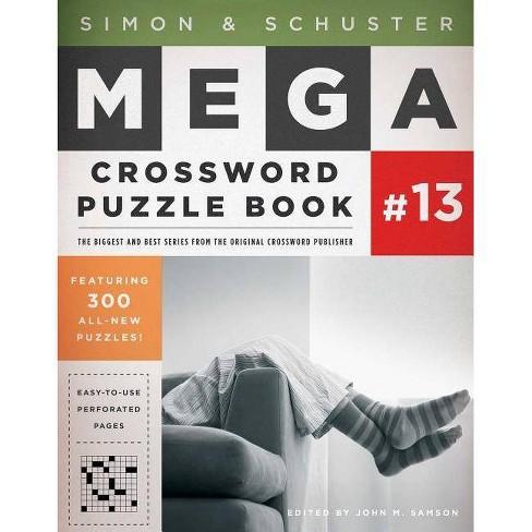 a6b33a5629345 Simon & Schuster Mega Crossword Puzzle Book Series 13 - (Simon ...